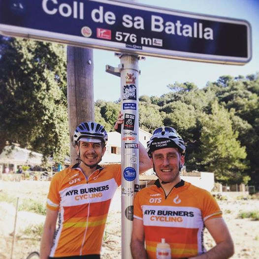 CCC in Majorca - Gav Mc