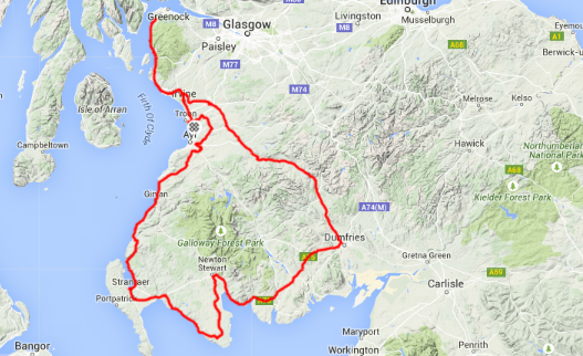 Click the map to see the full profile for Chris' Epic outing