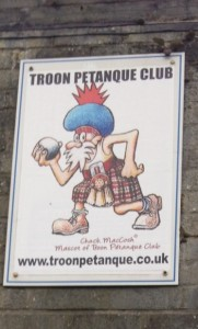 we quickly discovered how little of Troon we actually knew!